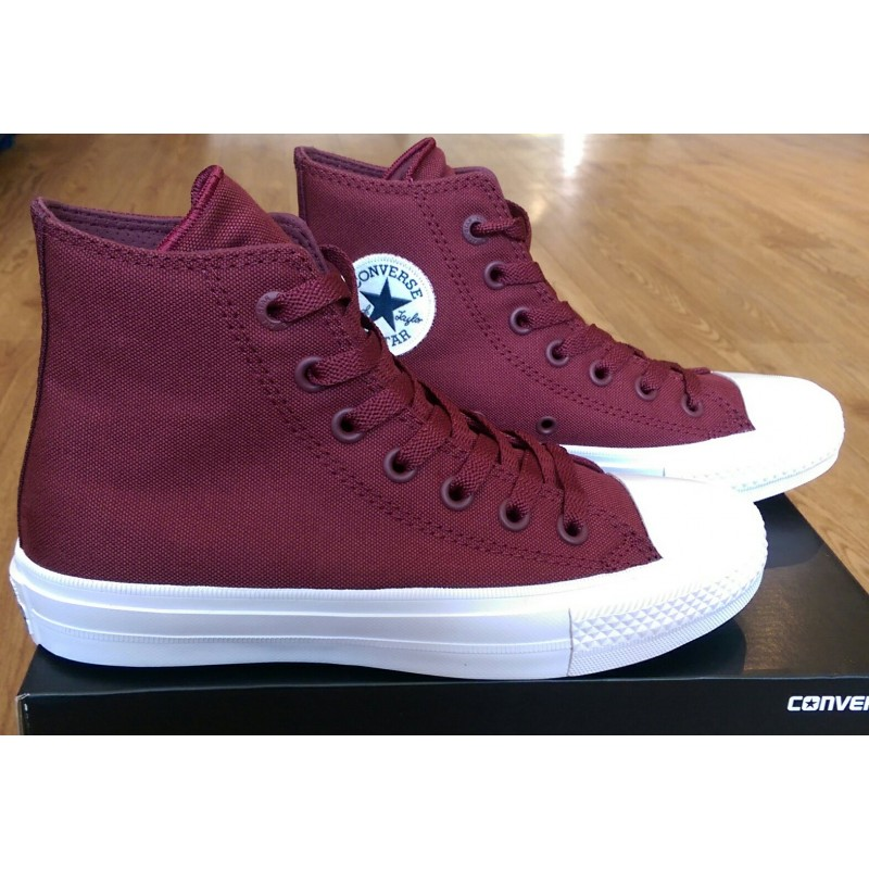8d81c5f337eb Converse Chuck Taylor All Star II Hi Top - Bordeaux