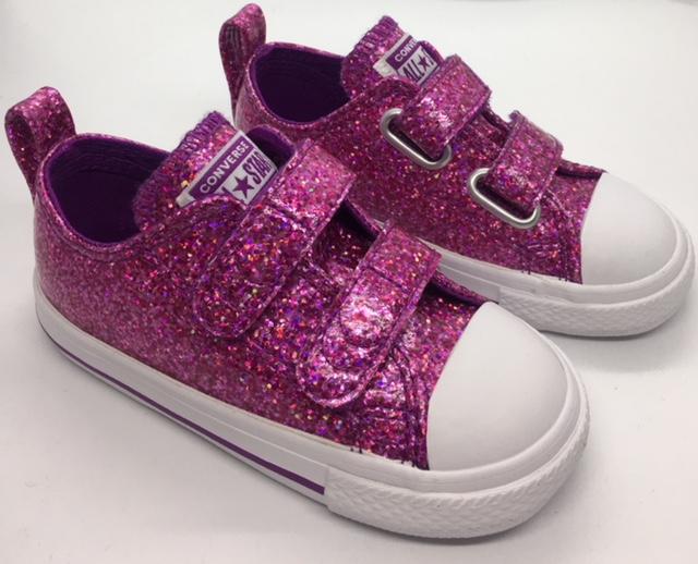 Converse 2V Ox Toddler Glitter  3c8948b5a258